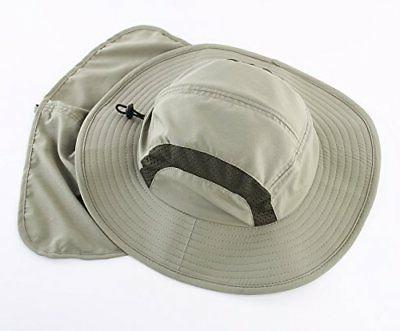 Home Prefer Kids Safari Hat 50+ Protective Flap