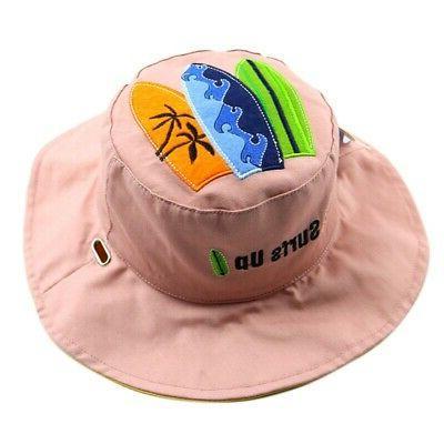 Kids Letter Print Bucket Hats Caps US