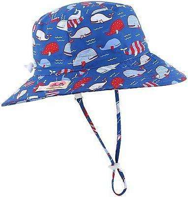 kids upf50 safari sun hat breathable bucket