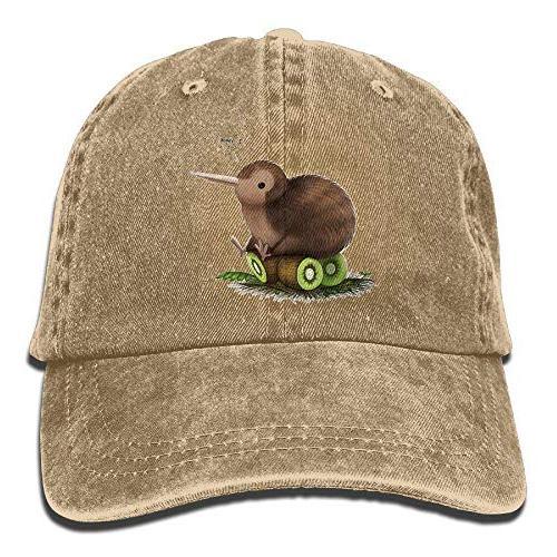 kiwi bird animals baseball cap for men