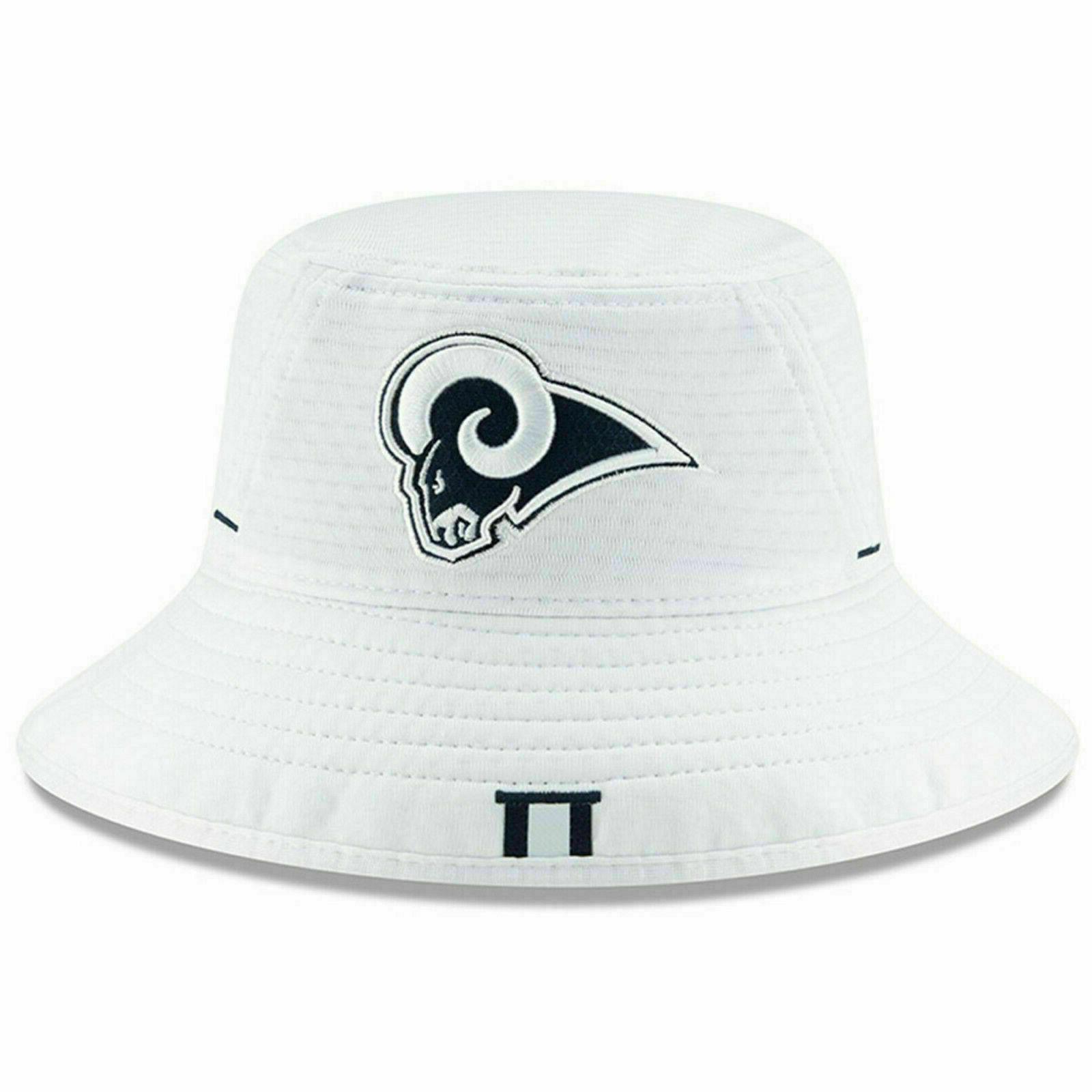los angeles rams bucket hat white 2019
