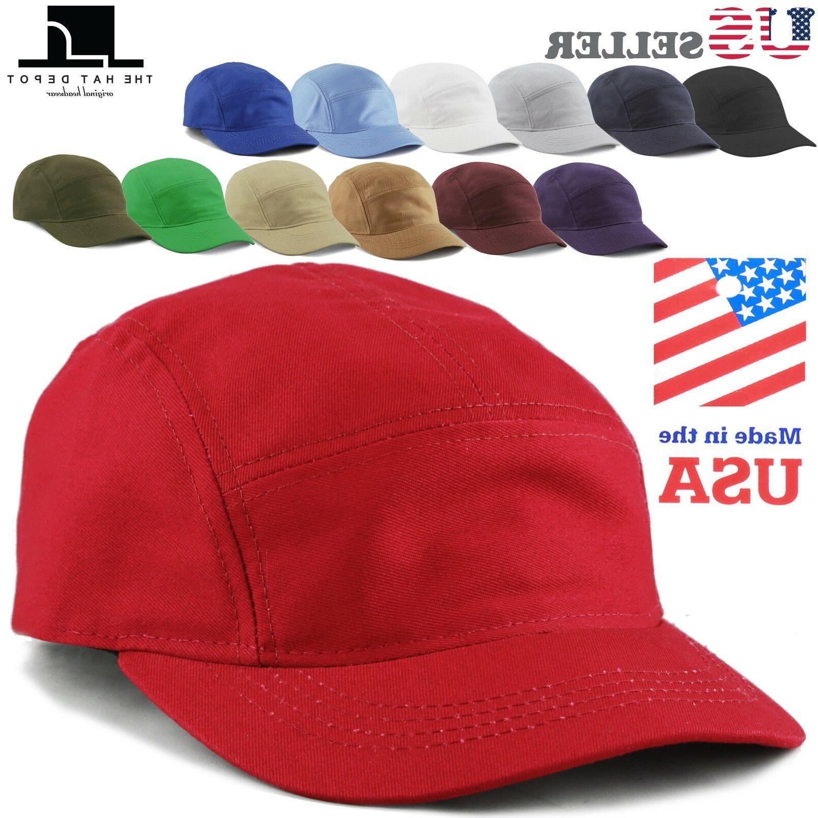 made in usa 5 panel hat running