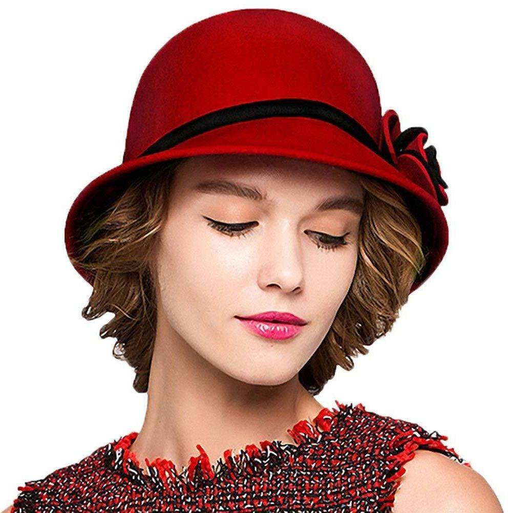maitose trade women s bow wool felt