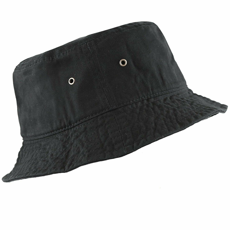 ORIGINAL NEWHATTAN MEN WOMEN'S 100% BUCKET HAT CAP S/M L/XL