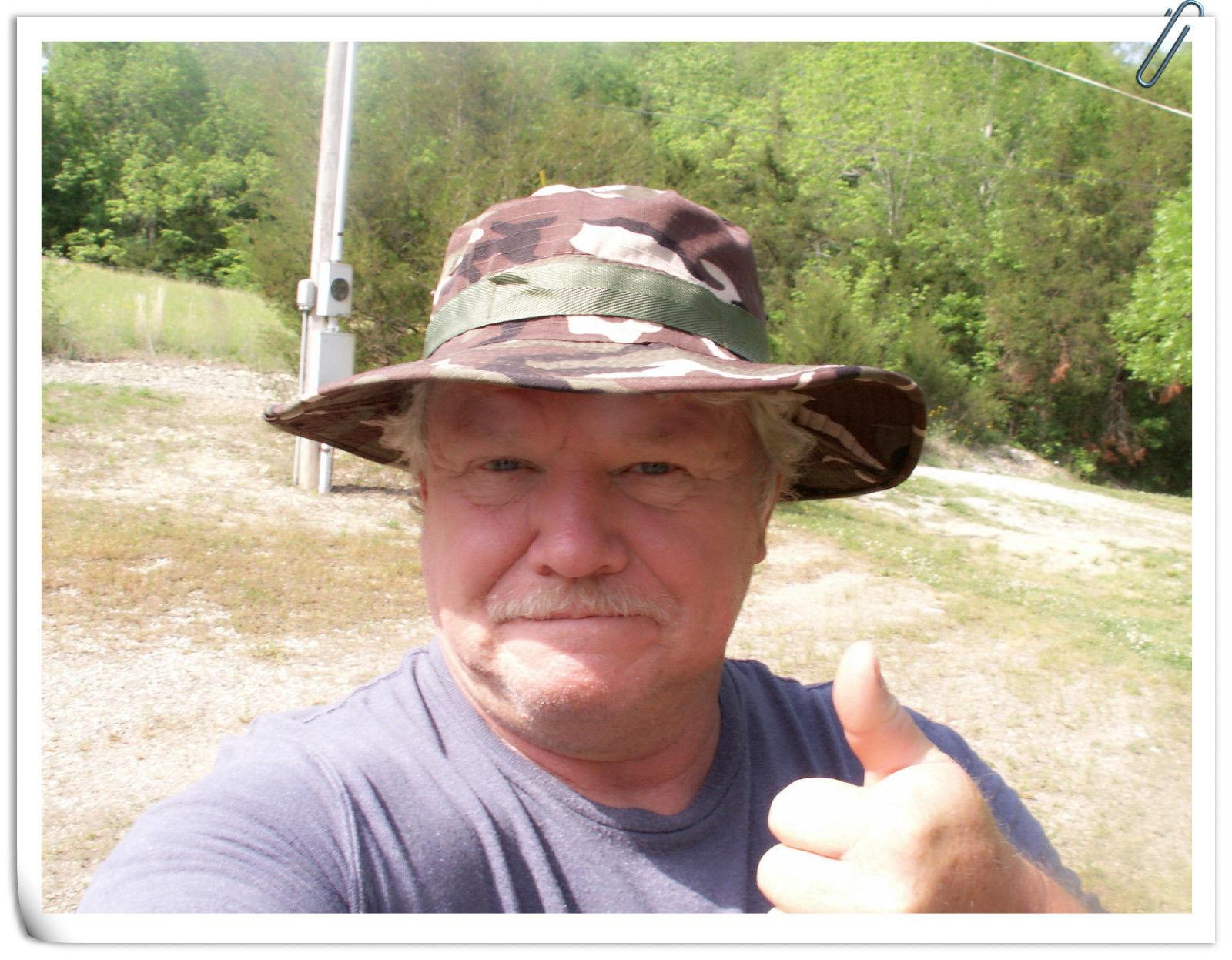 Men Boonie Bucket Sun Snap Military Fishing Hiking