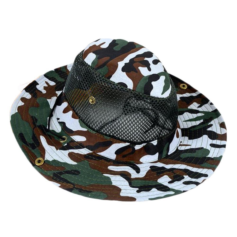 Men Boonie Bucket Sun Cap Military Hunting Outdoor
