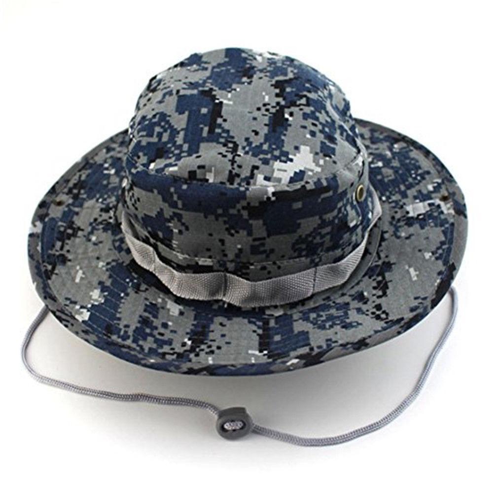 Men Boonie Bucket Sun Snap Cap Military Outdoor