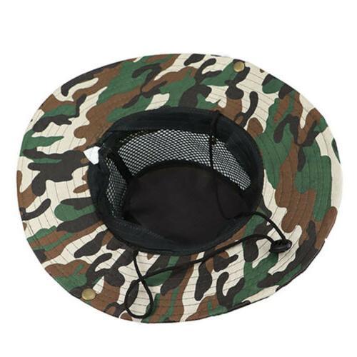 Men Hats Boonie Hunting Outdoor Wide Brim