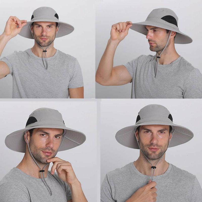 Men Bucket Protection Hat Waterproof Packable Hat