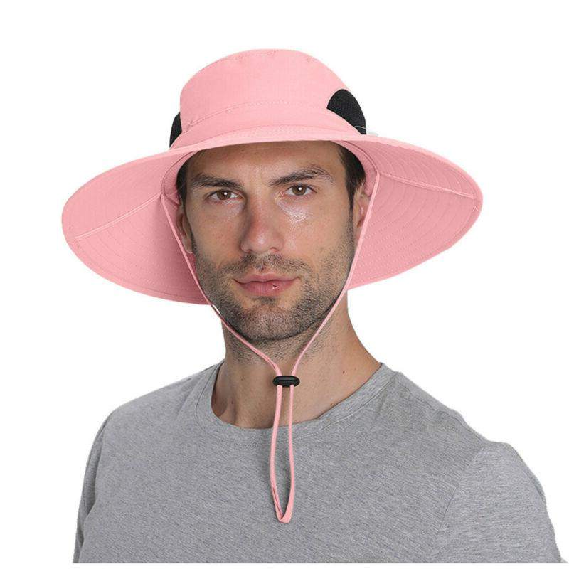 Men Bucket Protection Hat Waterproof Packable Boonie