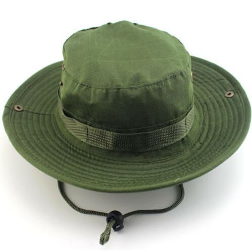 Men Tactical Hat Military Bucket Brim Cap