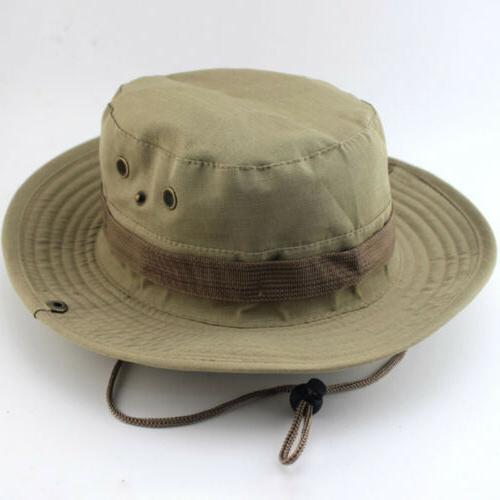 Men Military Brim Cap