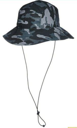 Under Men's Bucket Hat OSFA, Black,