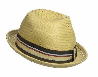 Brixton Men's Fedora Hat Tan