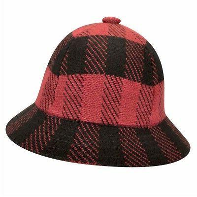 Kangol Frontier Casual Urchin/Black Check Bucket Hat S