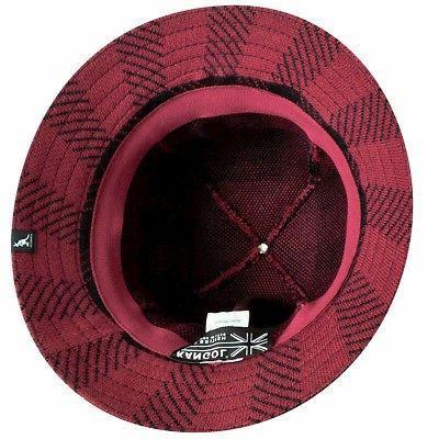 Kangol Urchin/Black Fashion Check Bucket Hat S