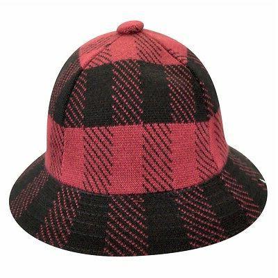Urchin/Black Fashion Check Hat Sz: S