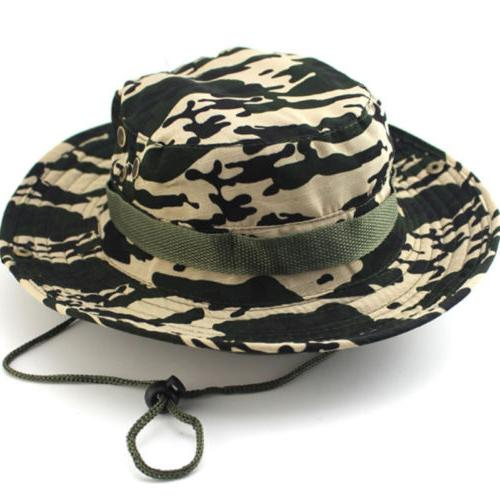 Men Military Bucket Hat Bush Cap