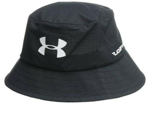 ua mens storm airvent golf bucket hat