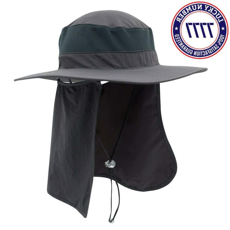 Home Prefer Men'S Hat Hat Detachable Neck