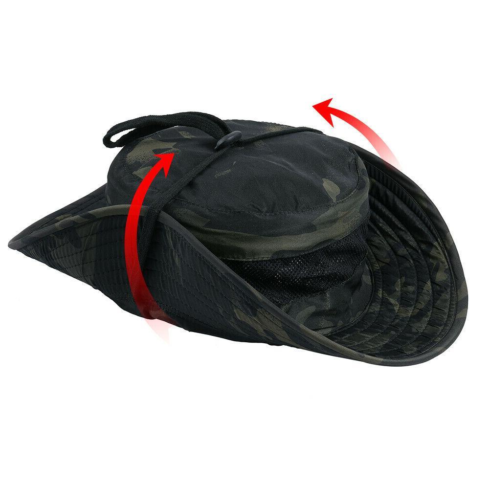 Men's Boonie Bucket Hats Hiking