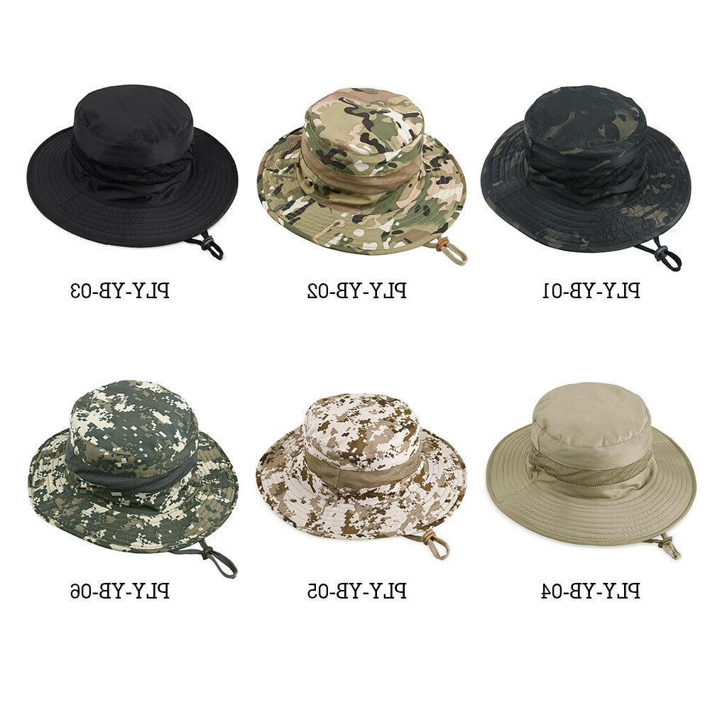 Men's Boonie Hats Hunting Fishing Hiking Camping Outdoor