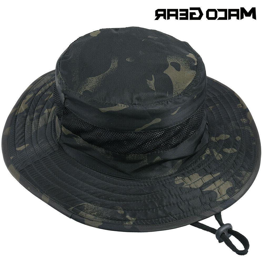men s tactical boonie bucket hats sun
