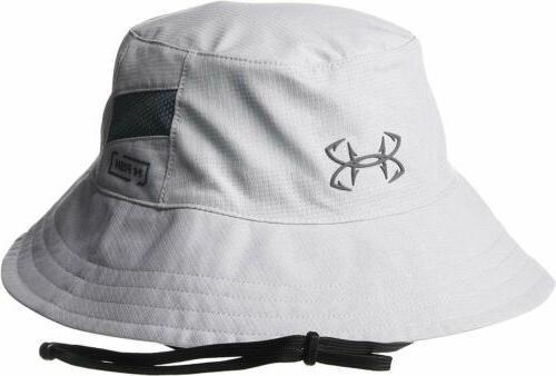 Under Men's Bucket Hat Cap Logo UPF