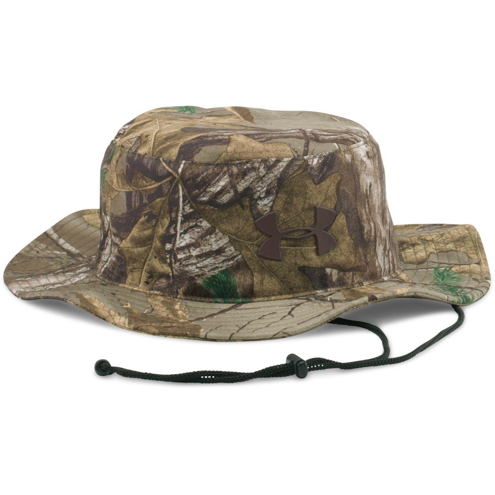 men s ua camo hunting bucket hat