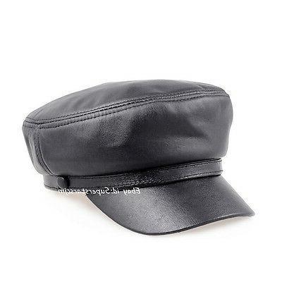 Men's Real Bucket Hat Beret Caps Hat
