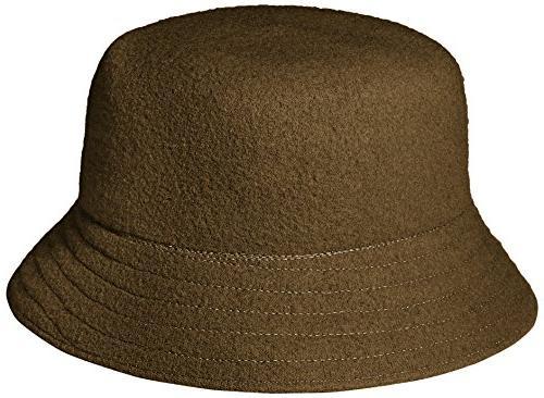 Kangol Wool Bucket Hat, camo, S