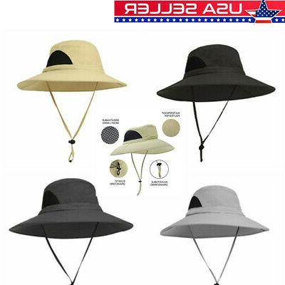 men women boonie bucket hat cap outdoor