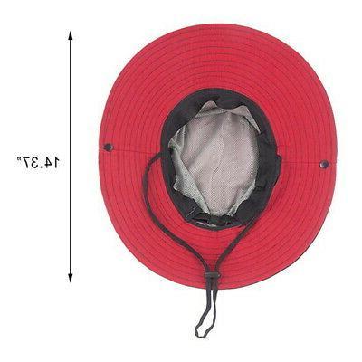 Summer Men Women Bucket Hat Safari Outdoor Hiking Cap