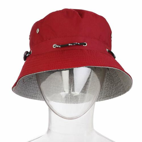 Men Bucket Cap Panama Outdoor Hat