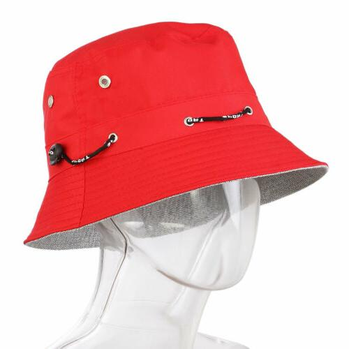 Men Bucket Cap Panama Hip Beach Outdoor