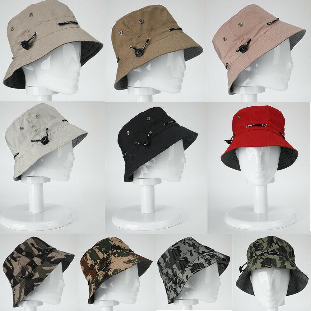 men women bucket hat cotton cap fishing