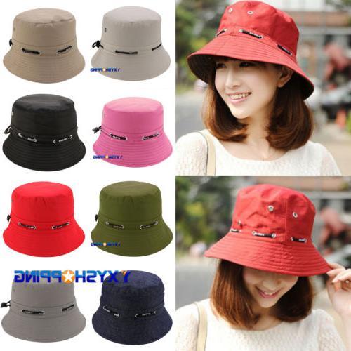 unisex bucket hat cap cotton boonie brim