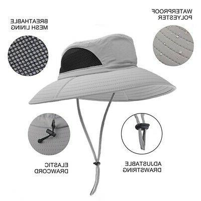 Outdoor Men Women Bucket Cap Fishing Hiking Military Hat