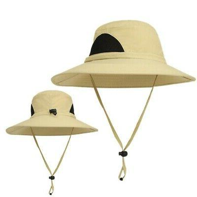 Men Women Bucket Hat Cap Hiking Hats