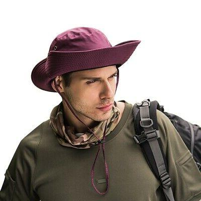 Men Women Hat Boonie Safari Outdoor Cap