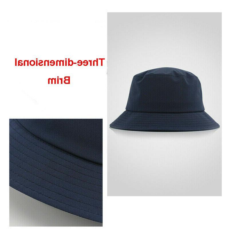 Men Waterproof Hat Camping Cap Visor Sunhat