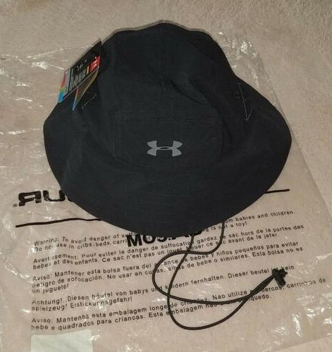 Mens ARMOUR - Gray Vent Hat Golf UPF