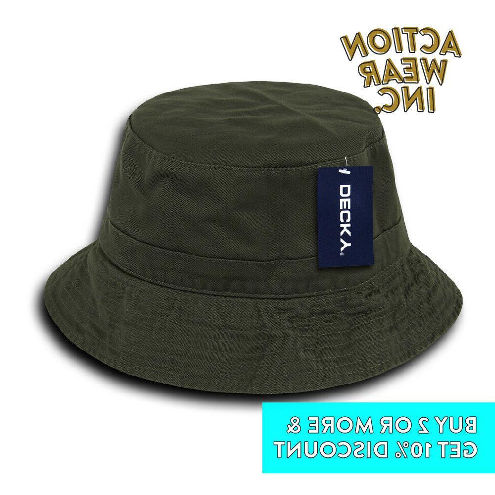 DECKY BUCKET OUTDOOR BOONIE SUN HAT HATS CAP FISHING
