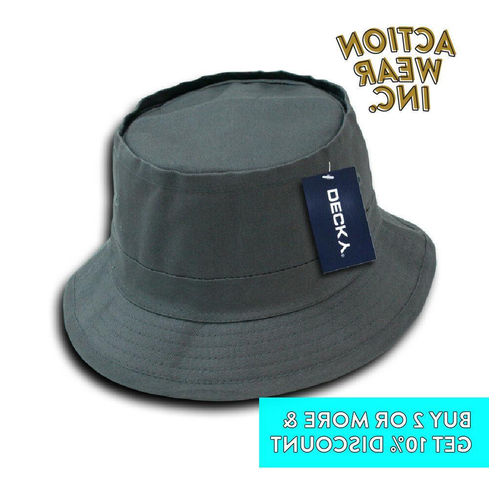 DECKY MENS BUCKET OUTDOOR SAFARI BOONIE HAT HATS CAP