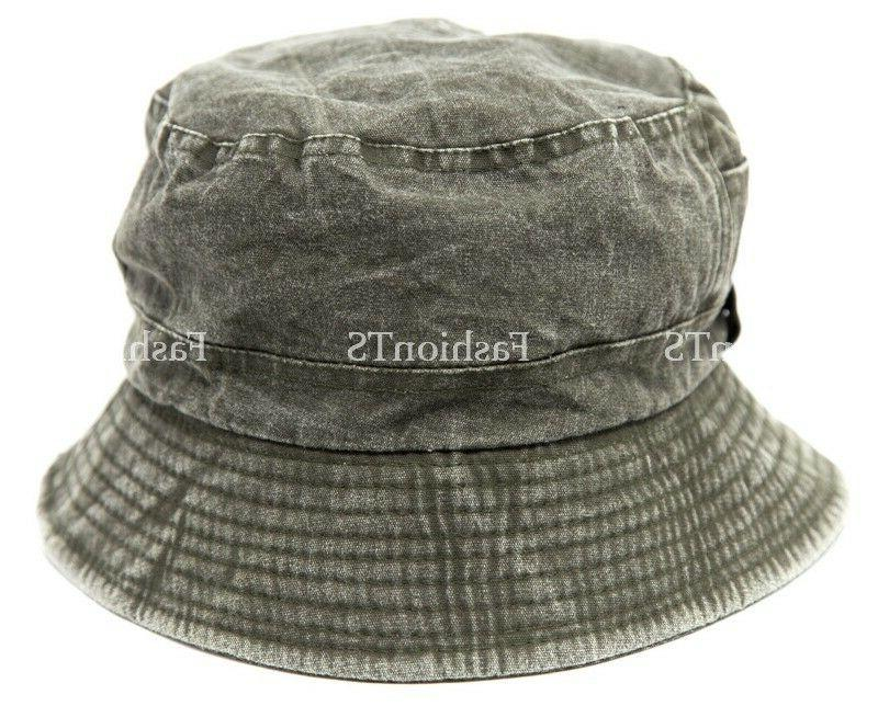 Mens Visor Boonie Bucket Hat Outdoor Summer Fishing