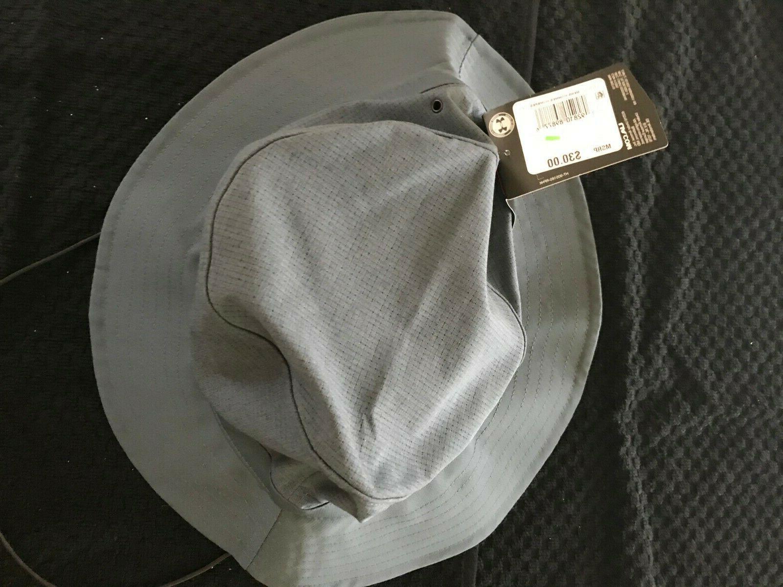 Under Armour Warrior Vented Bucket Hat-Gray NEW
