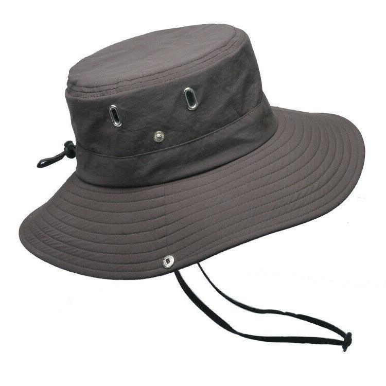 Mens Sun Outdoor Protection Safari Cap UPF 50+
