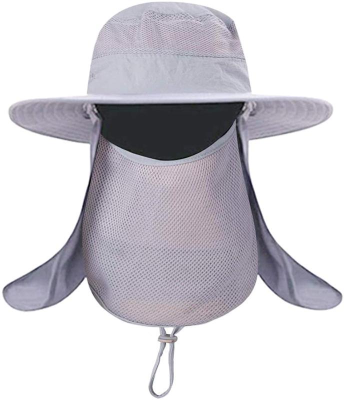 Mens Outdoor UV Bucket Safari Brim