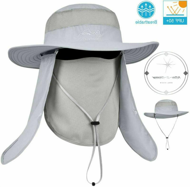 Mens Sun Hat Bucket Safari Brim
