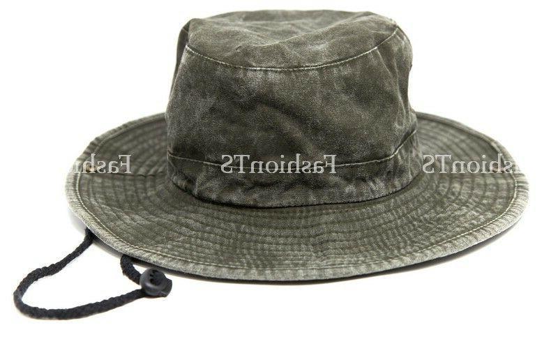 Mens Visor Boonie Bucket Hat Outdoor
